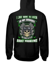 LISTEN TO MY EXHAUST Hooded Sweatshirt thumbnail