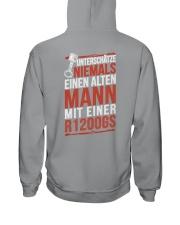 EINEN ALTEN MANN MIT EINER R1200GS Hooded Sweatshirt thumbnail