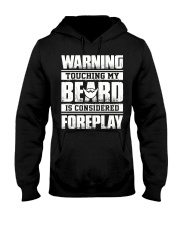Touching my beard is considered Hooded Sweatshirt thumbnail