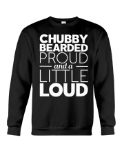 CHUBBY BEARDED PROUD Crewneck Sweatshirt thumbnail