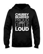 CHUBBY BEARDED PROUD Hooded Sweatshirt thumbnail