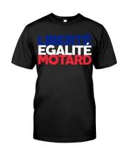 Liberte - Egalite - Motard Classic T-Shirt front