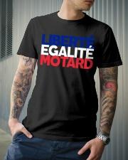 Liberte - Egalite - Motard Classic T-Shirt lifestyle-mens-crewneck-front-6