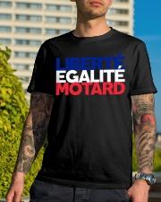 Liberte - Egalite - Motard Classic T-Shirt lifestyle-mens-crewneck-front-8