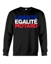 Liberte - Egalite - Motard Crewneck Sweatshirt thumbnail