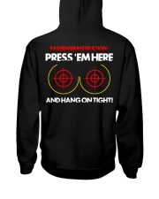 PRESS 'EM HERE AND HANG ON TIGHT Hooded Sweatshirt thumbnail