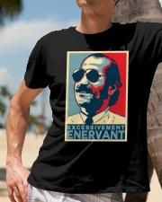 TEE-SHIRT EXCESSIVEMENT ENERVANT CLAUDY FOCAN Classic T-Shirt lifestyle-mens-crewneck-front-11