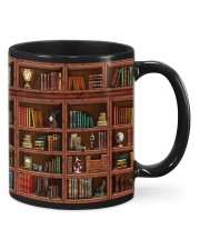 Library Book Shelf Mug front