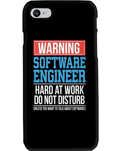 Special Warning Software Engineer Dont Disturb