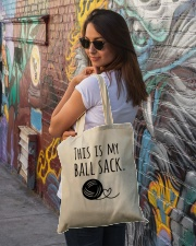 THIS IS MY BALL SACK Tote Bag lifestyle-totebag-front-1