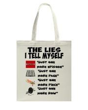 THE LIES I TELL MYSELF Tote Bag thumbnail