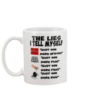 THE LIES I TELL MYSELF Mug back
