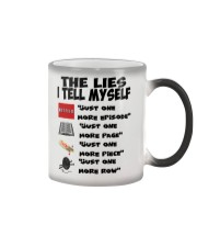 THE LIES I TELL MYSELF Color Changing Mug thumbnail
