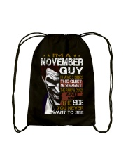 November Guy Drawstring Bag thumbnail