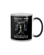 August Man  Color Changing Mug thumbnail