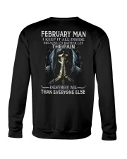 February Man  Crewneck Sweatshirt tile