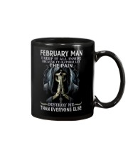 February Man  Mug thumbnail