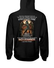 November Men Hooded Sweatshirt thumbnail