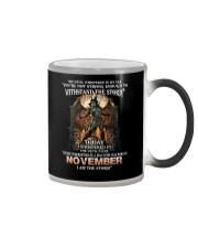 November Men Color Changing Mug thumbnail