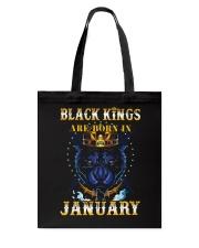 Black Kings January Tote Bag thumbnail