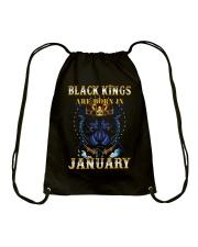 Black Kings January Drawstring Bag thumbnail