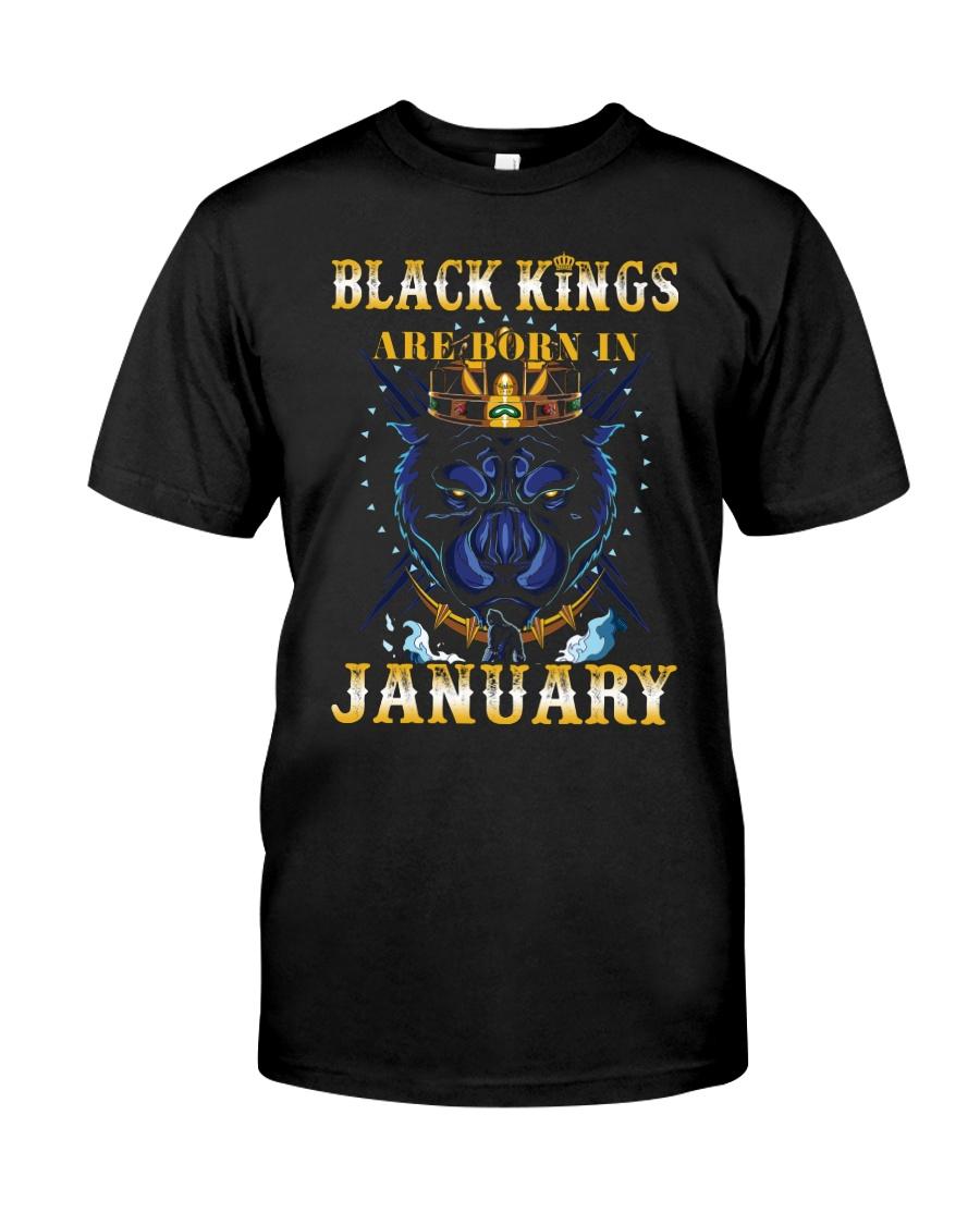 Black Kings January Classic T-Shirt