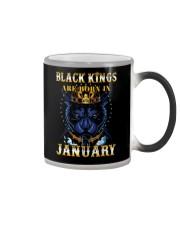 Black Kings January Color Changing Mug thumbnail