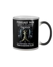 February Man  Color Changing Mug thumbnail
