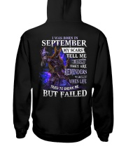 September Men My Scars  Hooded Sweatshirt thumbnail