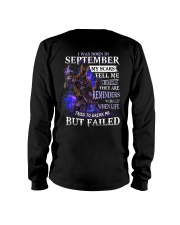 September Men My Scars  Long Sleeve Tee thumbnail