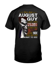 August Guy Classic T-Shirt back