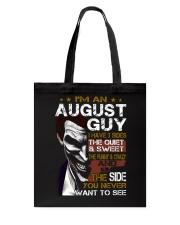 August Guy Tote Bag thumbnail