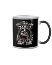 March Man  Color Changing Mug thumbnail