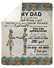 "To My Dad - Daughter  Sherpa Fleece Blanket - 50"" x 60"" thumbnail"