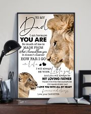 To My Dad - Daughter 11x17 Poster lifestyle-poster-2