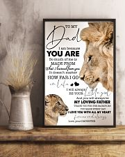 To My Dad - Daughter 11x17 Poster lifestyle-poster-3