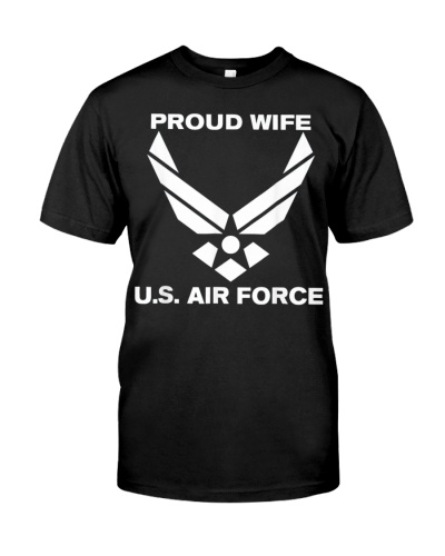 Wife Proud Air Force Wife Veteran Tshirt Veterans