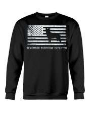Red Friday Military Dog T Shirt Remember Everyone  Crewneck Sweatshirt thumbnail