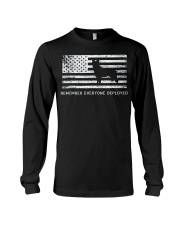 Red Friday Military Dog T Shirt Remember Everyone  Long Sleeve Tee thumbnail