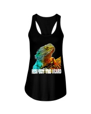 Respect The Beard T Shirt Funny Bearded Dragon T S Ladies Flowy Tank thumbnail