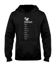 Mens Bladesmith Shirt Knife Types List Blacksmith  Hooded Sweatshirt thumbnail