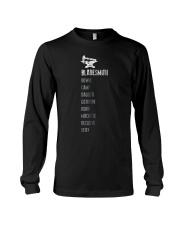 Mens Bladesmith Shirt Knife Types List Blacksmith  Long Sleeve Tee thumbnail