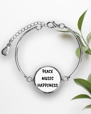 Cute online shop Jewellery Cool Gifts Metallic Circle Bracelet aos-bracelet-metal-front-lifestyle-4