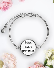 Cute online shop Jewellery Cool Gifts Metallic Circle Bracelet aos-bracelet-metal-front-lifestyle-6