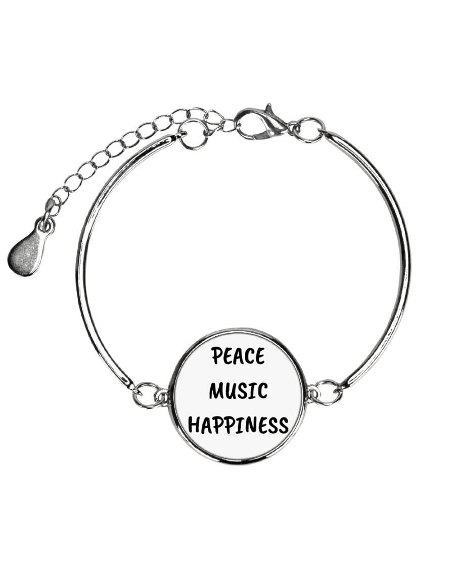 Cute online shop Jewellery Cool Gifts Metallic Circle Bracelet