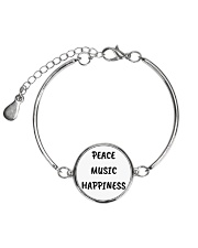 Cute online shop Jewellery Cool Gifts Metallic Circle Bracelet front