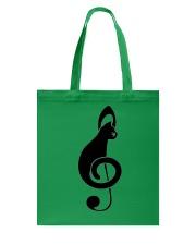 Cats music Tote Bag thumbnail