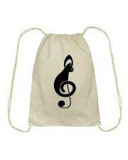 Cats music Drawstring Bag front