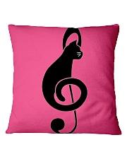 Cats music Square Pillowcase thumbnail