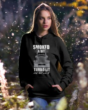 Truck Driver Hooded Sweatshirt lifestyle-holiday-hoodie-front-5